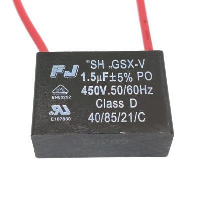 Пусковой конденсатор 1.5uf 450v GSX-V