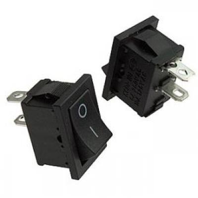Клавишный переключатель SC768-2C б/ф (black)