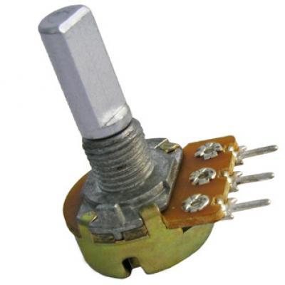 Переменный резистор 16k1F 0.25W 10k