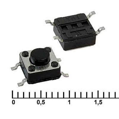 Тактовая кнопка SMD 6x6x4.3 mm IT-1102W