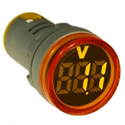 Цифровой LED вольтметр DMS-132 AD16-22VMC Y