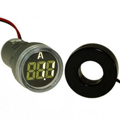 Цифровой LED амперметр DMS-211 AD16-22AM W