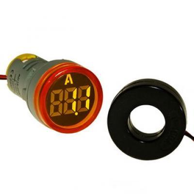 Цифровой LED амперметр DMS-212 AD16-22AM Y