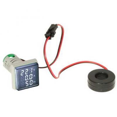 Цифровой многофункциональный LED дисплей DMS-301 AD16-22VAHZS W