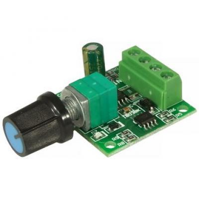 ШИМ регулятор скорости вращения двигателя (DC) EM-715 (PWM 1803B)