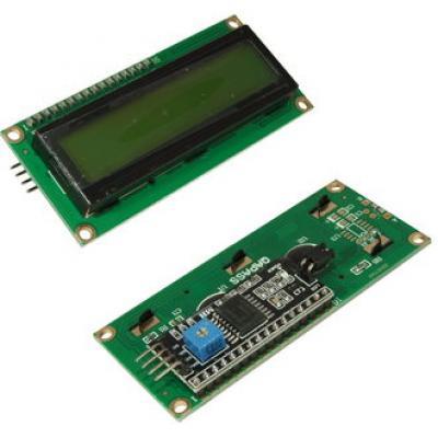 Дисплей символьный LCD1602 с конвертером I2C EM-341