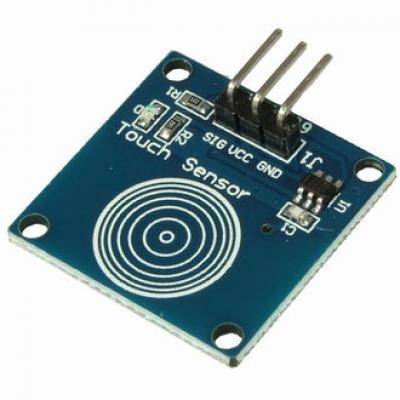 Датчик прикосновения сенсорный емкностный EM-502