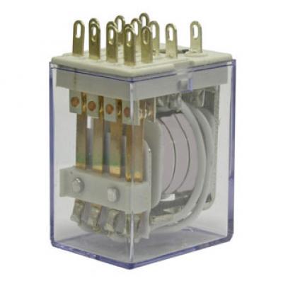 Реле электромеханическое 4453(18F)-4 (HH54P) 12VDC 5А