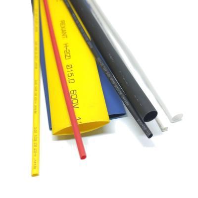Термоусадочная трубка Термоусадка REXANT 4.0/2.0 мм черная (1м)