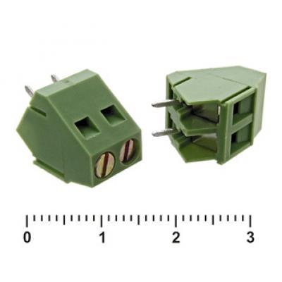 Клеммник винтовой XY103-2 (5.0mm)