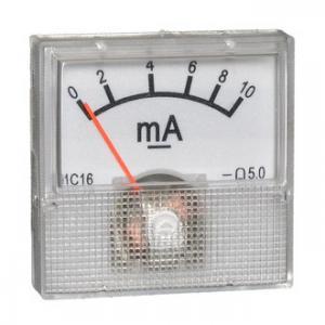 Амперметр DC 40х40 (пласт) 10mADC