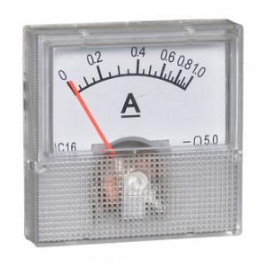 Амперметр DC 40х40 (пласт) 1ADC