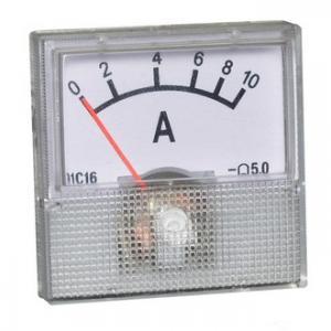 Амперметр DC 40х40 (пласт) 10ADC