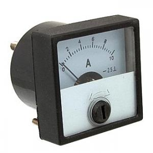 Амперметр DC М42303 40х40 (аналог) 10ADC