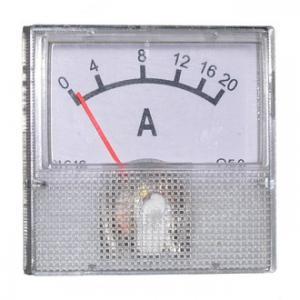Амперметр DC 40х40 (пласт) 20ADC