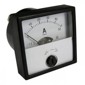 Амперметр DC М42303 40х40 (аналог) 50ADC