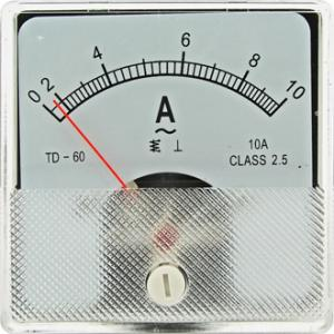 Амперметр AC SE-60 (TD-60) 60x60 10AAC