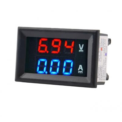 Амперметр-Вольтметр DC цифровой 0-10ADC 0-100VDC
