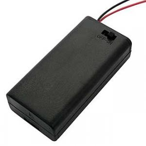Батарейный отсек АА BH638 2х1 закрытый (2 батареи)