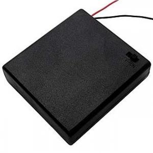 Батарейный отсек АА BH640 4x1 закрытый (4 батареи)