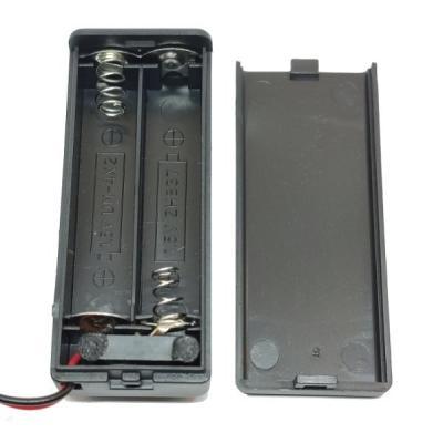 Батарейный отсек ААА KLS5-828-B 2x1 закрытый (2 батареи)