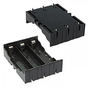 Батарейный отсек 18650 Battery holder for Li-ion 3x18650