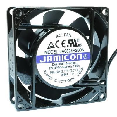 Вентилятор AC 80x80x25 (220v/0.05A) JA0825H2B010N-L-R качения Jamicon
