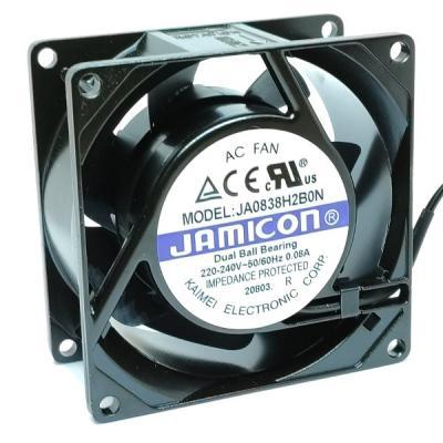 Вентилятор AC 80x80x38 (220v/0.08A) JA0838H2B010N-L-R качения Jamicon