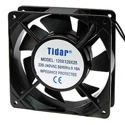Вентилятор AC 120x120x25 (220v/0,1A) RQA12025HSL скольжения Tidar