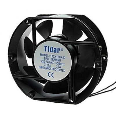 Вентилятор AC 172x150x50 (220v/0,22A) RQA172x150x50HBL качения Tidar