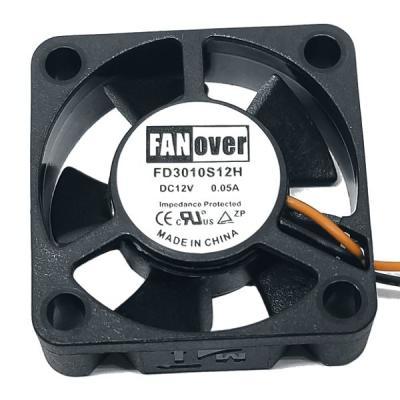 Вентилятор DC 30x30x10 (12v/0.05A) FD3010S12H скольжения FanOver
