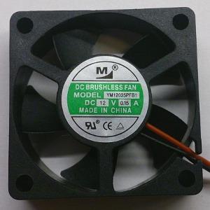 Вентилятор DC 35x35x10 (12v/0,15A) YM12035PFB1 качения