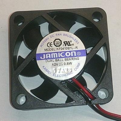 Вентилятор DC 40x40x10 (12v/0,6W) KF0410B1L-032-243R качения Jamicon