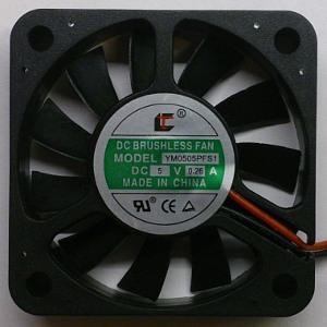 Вентилятор DC 50x50x10 (5v/0,26A) YM0505PFS1 скольжения