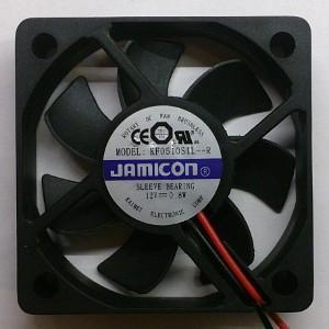 Вентилятор DC 50x50x10 (12v/0,8W) KF0510S1L-012-243R скольжения Jamicon