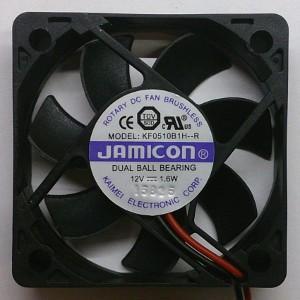 Вентилятор DC 50x50x10 (12v/1,6W) KF0510B1H качения Jamicon