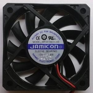 Вентилятор DC 60x60x10 (12v/0.23A) KF0610S1H-HR скольжения Jamicon