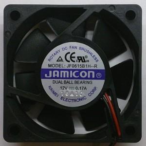 Вентилятор DC 60x60x15 (12v/0.17A) JF0615B1H-001-243R качения Jamicon