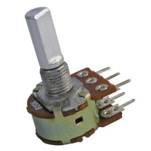 Переменный резистор 16k2F (стерео) 0,25W 100к
