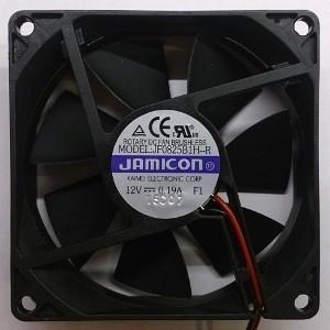 Вентилятор DC 80x80x25 (12v/0.19A) JF0825B1H-001-065R качения Jamicon