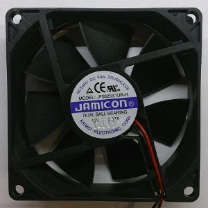 Вентилятор DC 80x80x25 (12v/0.37A) JF0825B1UR качения Jamicon