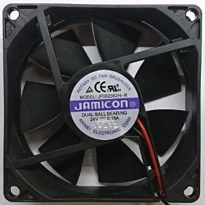 Вентилятор DC 80x80x25 (24v/0.15A) JF0825B2H-001-065R качения Jamicon