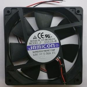 Вентилятор DC 120x120x25 (12v/0,3A) JF1225S1H скольжения Jamicon