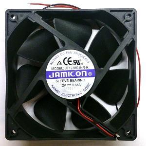 Вентилятор DC 120x120x38 (12v/0,55A) JF1238S1HR скольжения Jamicon