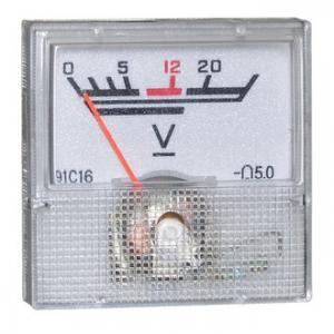 Вольтметр DC 40х40 (пласт) 20VDC