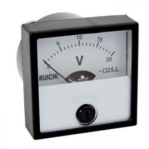 Вольтметр DC M42303 40х40 (аналог) 20VDC