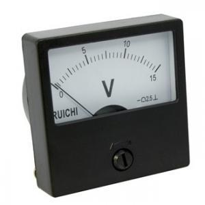Вольтметр DC М42301 60x60 (аналог) 15VDC