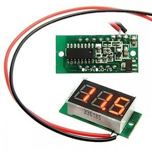 Вольтметр DC (цифровой) 3-Digit module Red LED (4.5-30V)