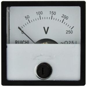 Вольтметр AC Ц42303 40х40 (аналог) 250VAC