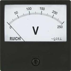 Вольтметр AC Ц42300 80x80 (аналог) 250VAC